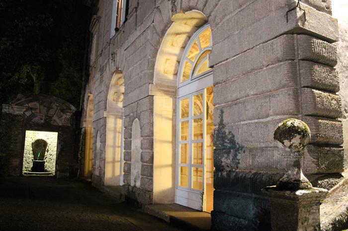 Visita notturna dei palazzi Gambara e Montalto di Villa Lante Viterbo 20 sett. 2014