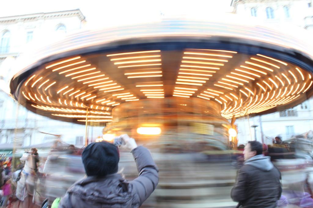 Giostra a Piazza Navona